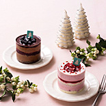 「カップル」「おひとりさま」用クリスマスケーキ、限定販売-パティスリー キハチ