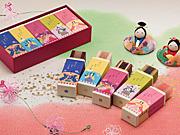 「両口屋是清」がひな祭り菓子-期間限定で3種販売