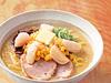 北海道産バターコーン&帆立のせ白スープ