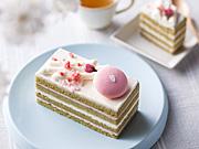 目黒川の花見をイメージした「さくらケーキ」 オッジが限定販売