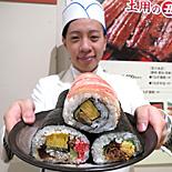 新宿小田急、初の「夏の恵方巻き」−夏の節分&土用の二の丑に向け15種超