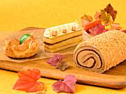 「コロンバン」秋限定スイーツ−「アップルポテトパイ」など4種