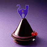 「アンリ・シャルパンティエ」がハロウィーン限定スイーツ−リンゴ・黒猫モチーフのケーキなど