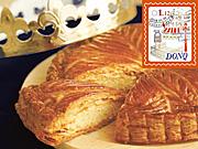 ドンク&ジョアンで、新年祝い菓子「ガレット・デ・ロワ」限定販売