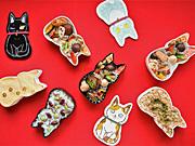新宿小田急で「猫の日」イベント−猫型弁当箱入り「福ねこ弁当」初登場