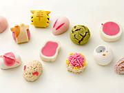 日本橋三越本店「全国銘菓展」−干支生菓子、クレヨン形干菓子、食べ比べあんこ企画も