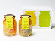 パティスリー キハチ夏の新商品、カラフルデザート「フルーツポンチ」限定販売