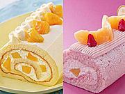 大丸東京店で季節・期間限定ロールケーキ特集−マンゴー、桃、コーヒー味など