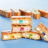 エール・エルが夏季限定ワッフルなど−マンゴー、白桃、かんきつを使った爽やかスイーツ