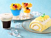 コロンバン「ババロアエリート」に初のオレンジ味、コーヒーゼリーなど夏限定5種