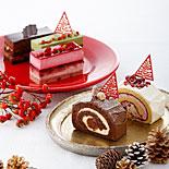1人用クリスマスケーキ−パティスリー キハチがXマス当日限定販売