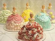 西武池袋本店「デコ フルール」が華やかなドレス姿の「プリンセス」ケーキ、予約販売