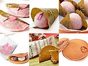 西武池袋本店・デパ地下で「さくらまつり」−桜餅20種、どら焼き30種など