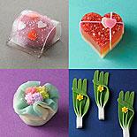 日本橋三越本店で「全国銘菓展」−多彩な和菓子で「恋心」表現
