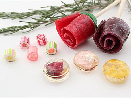 「パパブブレ」ホワイトデー限定キャンディー−「フラワー」テーマに6種