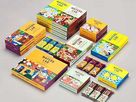 冷やして食べる新・東京土産「ウエハースラボ」、パティスリー キハチ限定店で販売