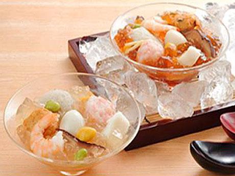 大丸東京店ほっぺタウン、ジュレ仕立ての涼フーズ販売