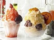 西武池袋本店で「IKESEI菓子博」−「トラヤカフェ」のかき氷やコラボスイーツなど
