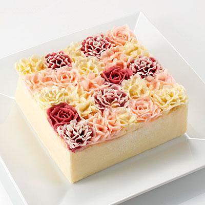 松屋銀座にフランス発パティスリー「ベイユヴェール」−花束のバターケーキ登場