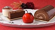 「コロンバン」に秋冬スイーツ−リンゴ形、チョコレート尽くしなど4種