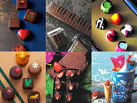 西武池袋本店で「チョコレートパラダイス」−会場限定チョコレートスイーツ多彩に