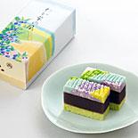 「両口屋是清」各店で初夏限定棹菓子「わか紫の風」販売