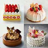 松屋銀座・浅草で2021年クリスマスケーキ予約−初登場のレストランケーキなど全43種