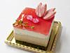 桜の花ケーキ