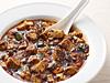 陳麻婆豆腐セット(ライス、スープ、ザーサイ付)