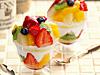 7種フルーツの彩り贅沢パフェ