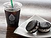 水出し燻製アイスコーヒーとアイスチーズクッキーサンド