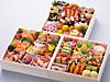 阪神百貨店限定 神戸学院大学コラボ三段重「華彩幸咲(かさいこうしょう)」