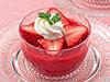 苺のスープデザート