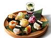 漬物手まり寿司