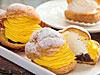 厚真産かぼちゃと北海道産かぼちゃを使用したチーズシュークリーム