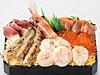 胆振のししゃもとホッキを使用した道産海鮮弁当