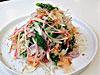 菜の花と玉ねぎ花かつおのサラダ 和風オニオンドレッシング