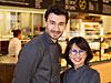 実業家&パティシエのロドルフ・ランドゥメンヌさん(左)と、実業家・パン職人の芳美・ランドゥメンヌさん(右)