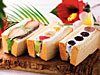九州リッチクリームのフルーツサンド
