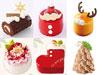 おひとりさま用クリスマスケーキ