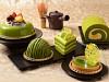 コロンバンで「抹茶フェア」−宇治抹茶を使ったタルト、バターケーキ、ババロアなど